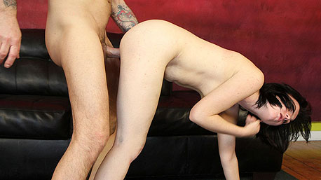 Nicoletta Frost Gets Bent Over and Nailed Doggystyle